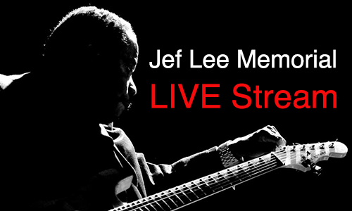 Jef Lee Johnson Live Stream