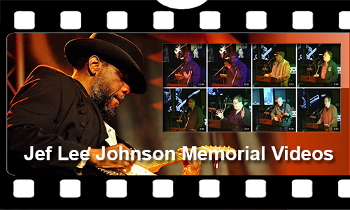 Jef Lee Johnson Memorial Videos